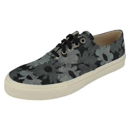 Hombre Sperry Topsiders Lona CVO Cordones Zapatos - Nube CVO Lona 9cd579