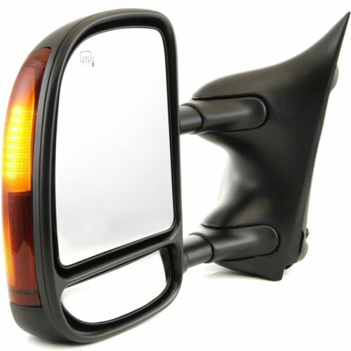 New Set of 2 Power Heated Towing Mirror for Ford F250 F550 Super Duty 2003-2007