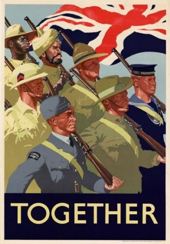 A4 Vintage Top Quality Allied WW2 World War II Propaganda Military Posters Print