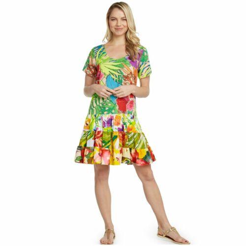 Jams World Hattie Dress Paradise Hawaiian Sundress XX-Large USA Made