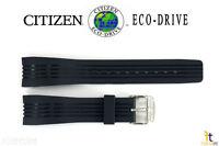 Citizen Eco-drive Bl5300-22a Blue Rubber Watch Band Strap S043417 S061865