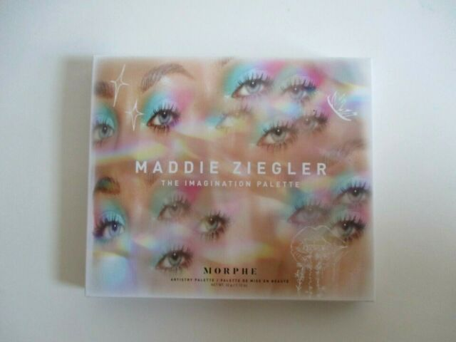 Morphe X Maddie Ziegler Imagination 20 Shade Eyeshadow Palette For Sale Online Ebay Step into the creative wonderland of @maddieziegler with this capsule collection and let your imagination run wild. morphe x maddie ziegler imagination 20 shade eyeshadow palette