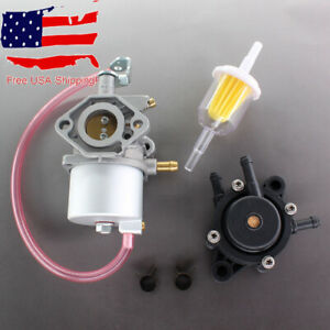 Carburetor-Fuel-Pump-For-Club-DS-Precedent-Turf-Carryall-Kawasaki-FE290-92-97