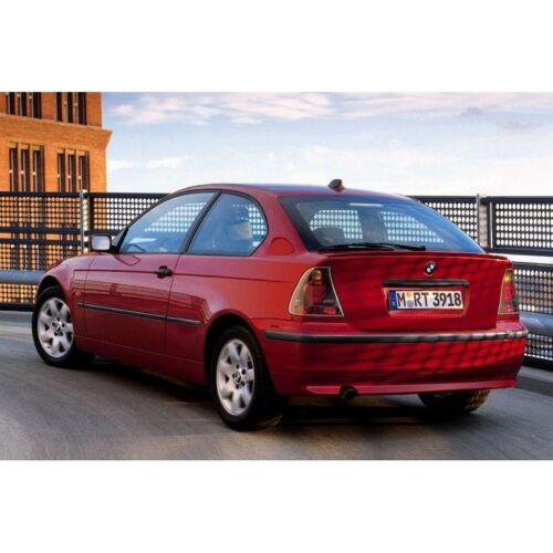 BMW série 3 compact E46 2000-2006 20/% Foncé Arrière pré cut fenêtre teinte