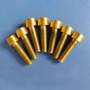 M2 M2.5 M3 Allen brass screw bolt hexagon socket screws knurled cap head bolts
