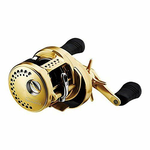 Shimano Calcutta Conquest 201 LH Baitcasting Reel For Bass Game Fishing