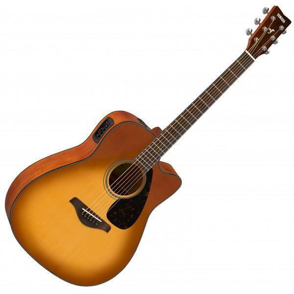 YAMAHA FGX800CSB  02 Sand Burst Finish Electro-Acoustic Guitar