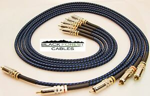 Motiviert Sommercable Classique Blau-schwarz Ek Cinchkabel 5x2m Audiokabel & Adapter Tv- & Heim-audio-zubehör