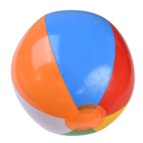 1 Pcs Beach Pool Ball Inflatable Aerated Air Stress Water Educational `CYER
