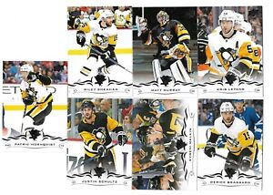 18/19 UPPER DECK SERIES 2 TEAM SET IJshockey PITTSBURGH PENGUINS