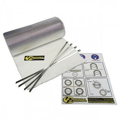 Heatshield Products 170001 Heatshield Armor 1//4 Thick x 6 Wide x 5 Long Exhaust Pipe Heat Shield