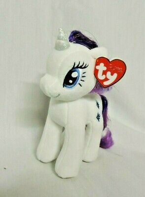 Ty Beanie Baby ~ RARITY ~ NEW MWMTS My Little Pony Sparkle Hair Strands