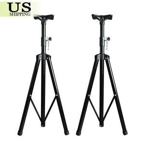 2x-Pro-Audio-DJ-Heavy-Duty-PA-Speaker-Adjustable-Tripod-Pole-Mount-Speaker-Stand