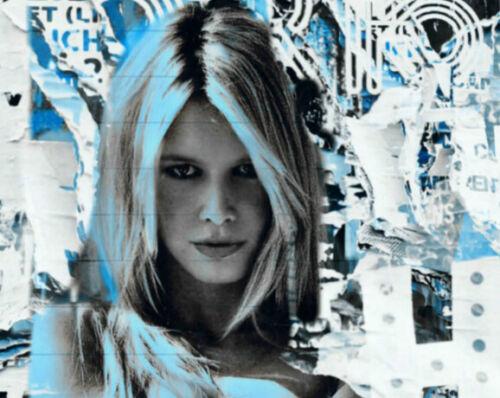 Motiv Brigitte Bardot XXL100x139,9 cm Arcylglas 5 mm PopArt//Poster//StreetArt
