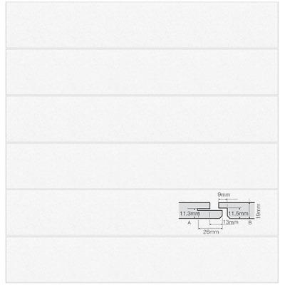 8//box BP7701M Plank Armstrong Ultima 1800 x 300mm SL2 Edge Ceiling Tiles