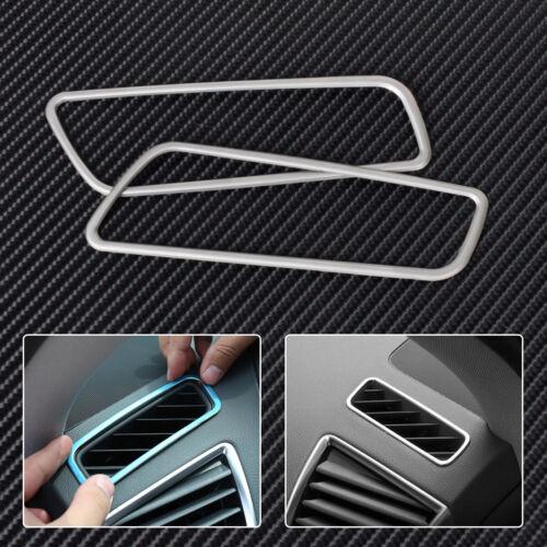 Chrom Rahmen Lüftungsdüsen Luftungs Gitter Lüftungsschacht für Audi Q5 09-15 NEU