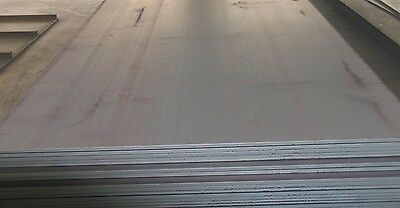 "1"" 1.0 Steel Plate 6"" x 12"" x 1"" Flat Bar Mild Steel Bullseye Metals"