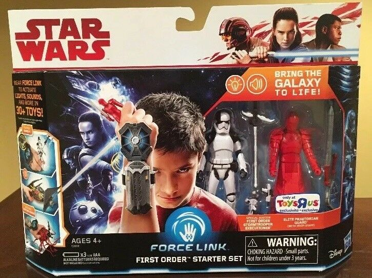 Star wars force link als starter - set spielzeug r uns trav exklusive selten