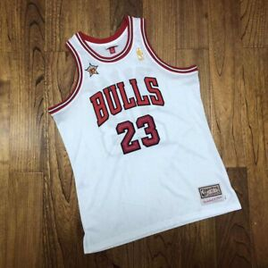 Mens Mitchell &Ness NBA Chicago Bulls Michael Jordan 1997 All Star Vintage