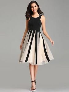 58aa2b867de48 Details about UK Ever-Pretty Woman Evening Party Ball Gowns Dress A-line  Short Casual Dresses