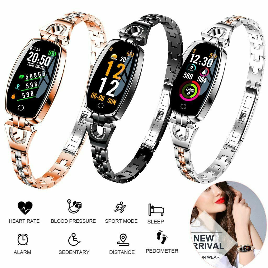 Fashion Smart Watch Heart Rate Blood Pressure Monitor Wristband For Ladies Gift