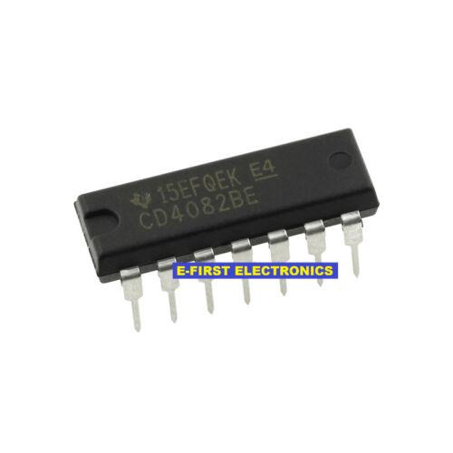 30pcs CD4082BE CD4082 DIP-14 Dual 4 Input And Gate DIp