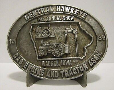 Central Hawkeye Gas Engine /& Tractor Association;2004,Ltd Ed,STONEWARE HOT PLATE