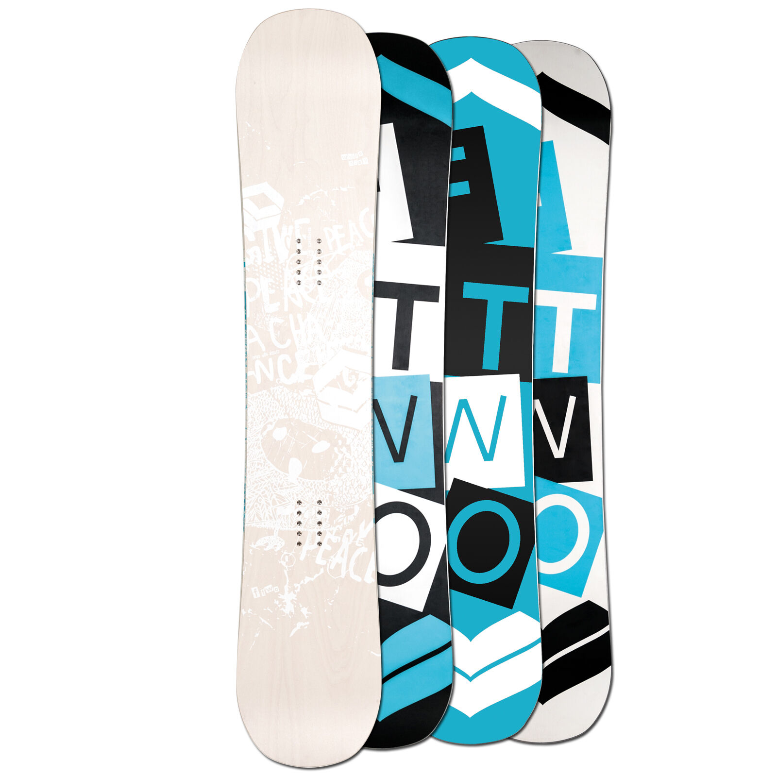 Ftwo Donna Freestyle Snowboard biancadeck Wood Donna 154 cm Camber