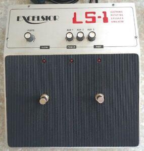 Excelsior LS-1 Rare Vintage Electronic Rotating Leslie Speaker Simulator