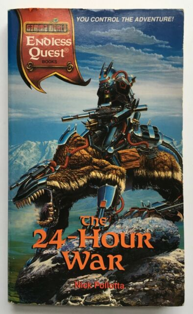 The 24-Hour War - Endless Quest - GAMMA WORLD - Nick Pollotta