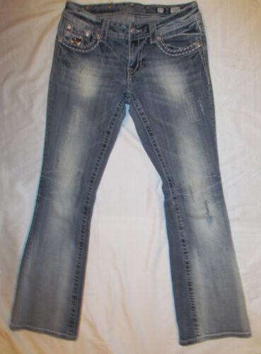cristalli paillettes di Me tempestati Jeans Boot con Vtg 37 Miss posteriori Swarovski wYqO6gR