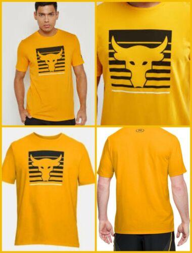 Mens NWT Under Armour X Project Rock Brahma Bull T Shirt Choose Size Free Ship
