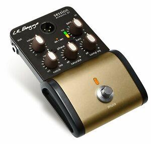 LR Baggs SESSION DI Acoustic Guitar Compression EQ DI Direct Box Preamp Pedal