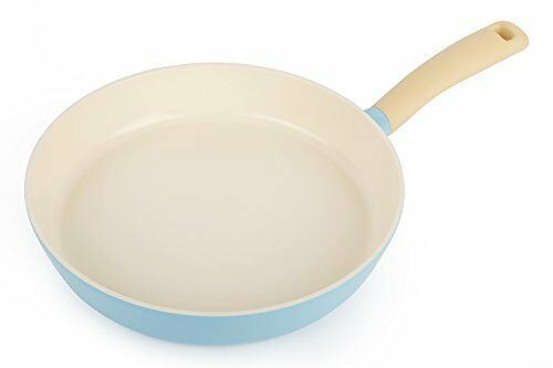 Neoflam Retro 11-Inch Cast Aluminum Frying Pan with Soft-Touch Handle and Ecolon