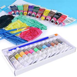 ACRYLIC-PAINT-SET-COLOUR-PAINTS-ARTIST-ART-AND-CRAFT-12X-6ml-ACRYLIC-COLOUR