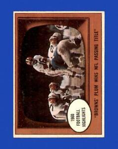 1961 Topps Set Break #132 Milt Plum IA EX-EXMINT *GMCARDS*