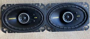 """Kicker CS46 4"""" x 6"""" CS Series Coaxial Car Door Speakers - (No Wiring Harness)"""