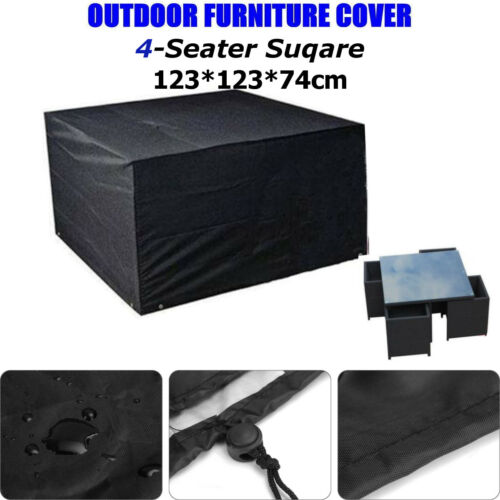 10 Types Garden Patio Furniture Cover Waterproof Outdoor Rattan Table Cover !