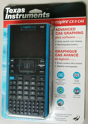 Texas Instruments TI-NSPIRE CX II CAS Graphing Calculator 33317208449 | eBay