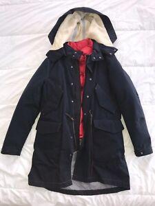 6a76d01e0 Details about Zara Men's 2 in 1 Hooded Winter Jacket