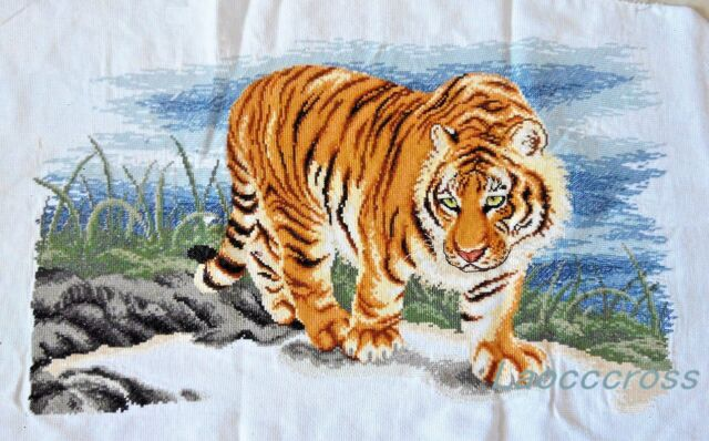 New Completed finished cross stitch