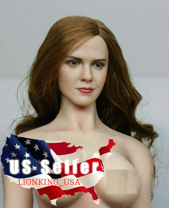 1 6 Emma Watson Head Sculpt 5.0 Harry Potter For 12  Hot Toys PHICEN Figure❶USA❶