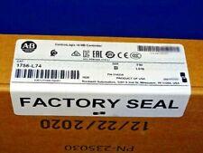 2021 Factory Sealed Allen Bradley 1756 L74 B Controller Controllogix 5574