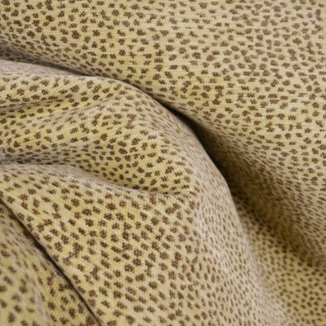Siamese Black Tan Leopard Cheetah Upholstery Fabric