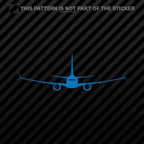 737 MAX Sticker Self Adhesive Vinyl 7 8 200 9 10 max 2x