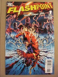 Flashpoint-1-DC-2011-Series-1st-Print-1st-app-Thomas-Wayne-Batman-9-4-Near-Mint