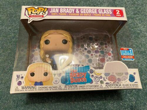 Funko Pop Vinyl famiglia Brady JAN /& George VETRO NYCC Confezione da 2 GRATIS Nuovo di Zecca