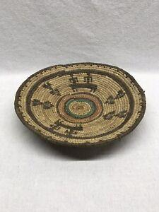 Nigerian-Hausa-Basket-Handwoven-African-Tribal-Vintage