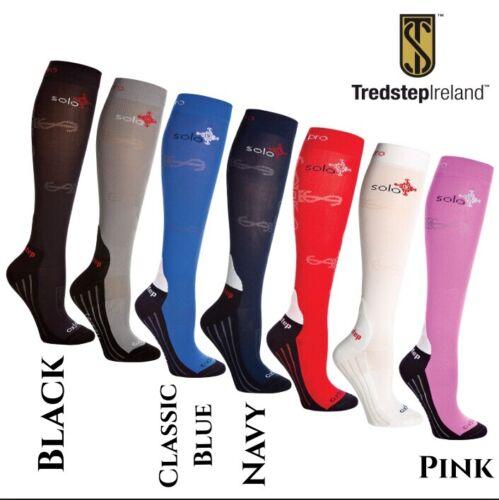 Various Colours Tredstep Ladies Solo Pro Socks BNWT Size 36-40