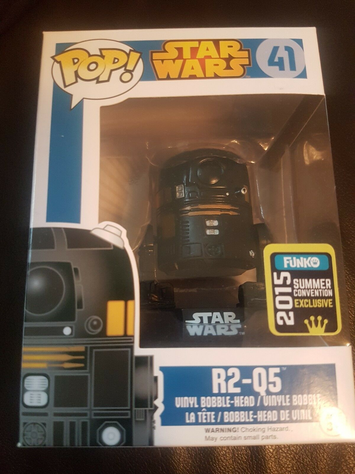 Star wars Funko POP R2-Q5 SDCC Summer Convention Exclusive  41